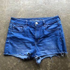 American Eagle jean shorts. Size: 10